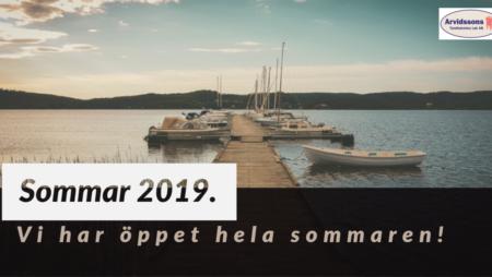 Sommar och semester 2019